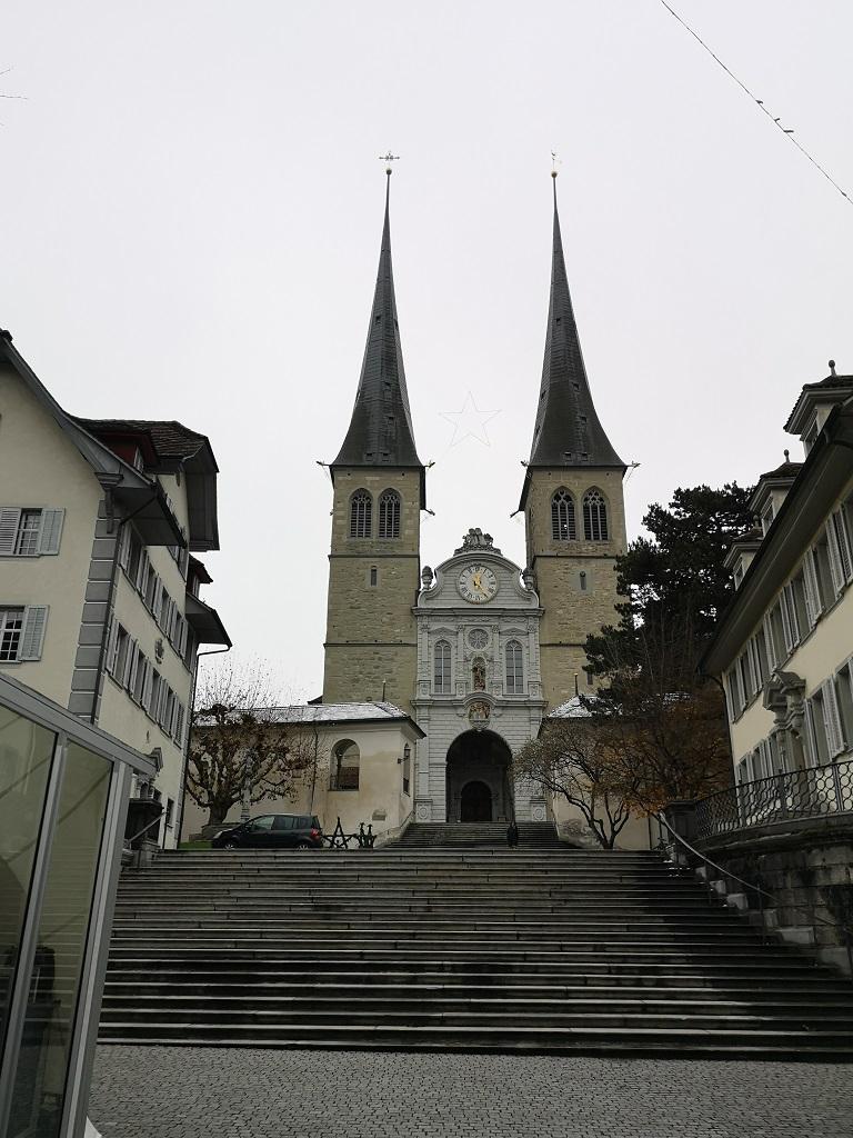 Eglise centre Lucerne