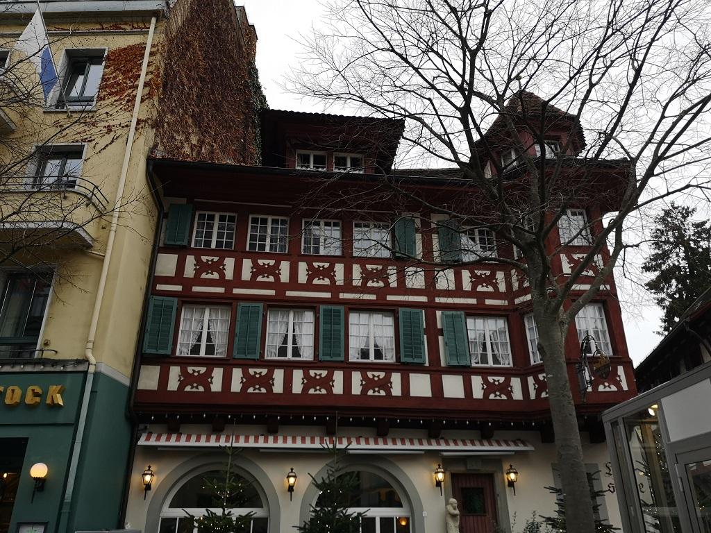 batiment centre de Lucerne